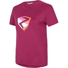 Ziener Nari T-Shirt Damen cassis